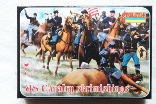 Strelets 1/72 ST0151 Union Cavalry Skirmishing (ACW)